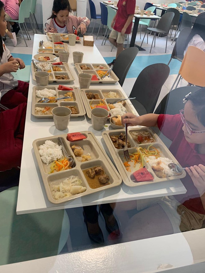Choáng với mức học phí Trường Quốc tế Việt Úc bị tố cắt xén phần ăn 2