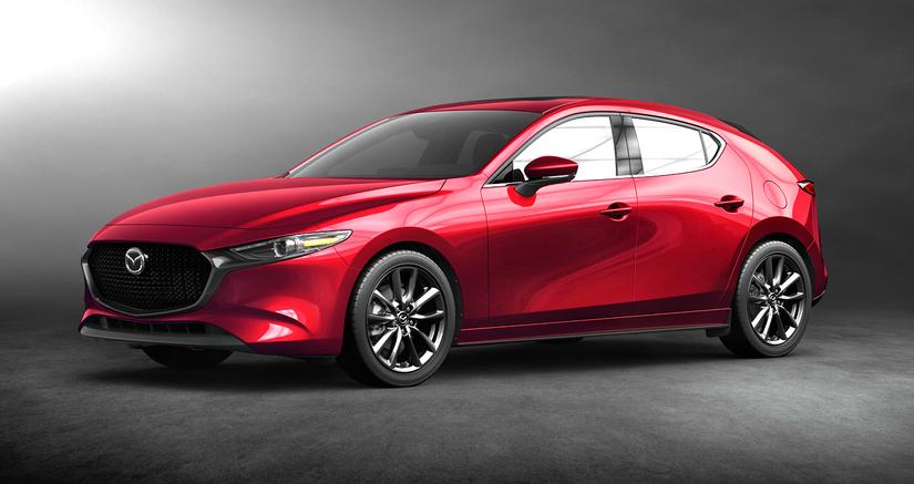 Mazda3 2019 đẹp long lanh giá từ 739 triệu đồng