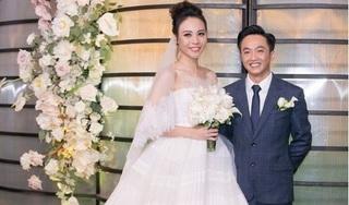 Sau 2 tháng, Cường Đô la, Đàm Thu Trang tung clip đám cưới đẹp như mơ
