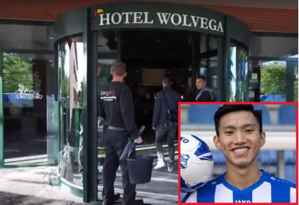 Ngắm khách sạn 4 sao giá gần 4 triệu đồng/đêm - nơi Văn Hậu ở tạm trong 2 tuần