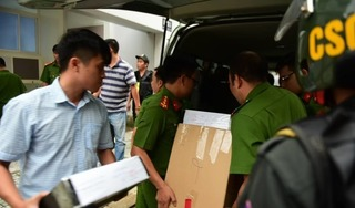 Số lượng tang vật cùng tiền vàng 'khủng' của Alibaba bị công an thu giữ