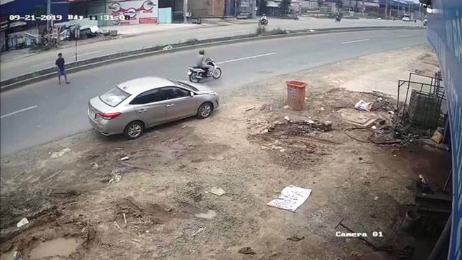Tên trộm 'sa lưới' sau 7 giờ lấy cắp ô tô