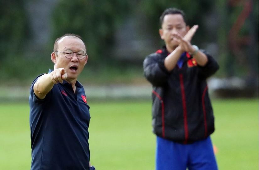 HLV Park Hang Seo bất ngờ Đình Trọng Văn Đức lên tuyển