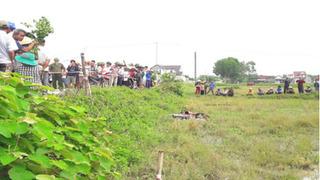 Tá hỏa phát hiện người đàn ông tử vong trong tư thế úp mặt dưới ruộng
