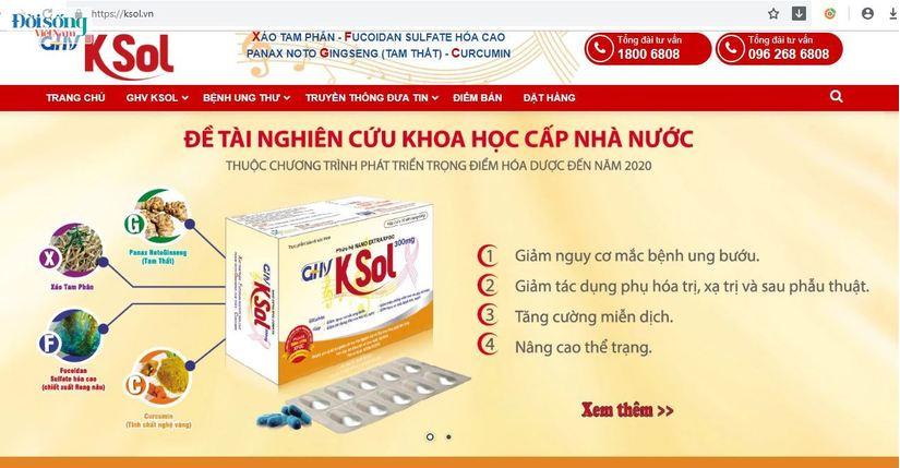 Cục An toàn thực phẩm tuýt còi hàng loạt TPCN