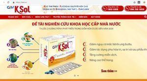 Cục An toàn thực phẩm 'tuýt còi' hàng loạt TPCN quảng cáo 'vống'