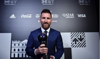 Messi giành giải FIFA The Best lần đầu tiên trong sự nghiệp