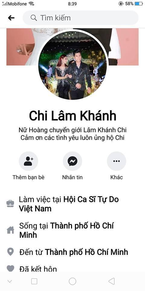Lâm Khánh Chi tặng150 triệu cho ai tìm được chủ nhân facebook giả mạo mình