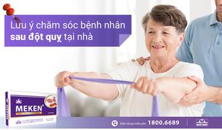 Lưu ý chăm sóc bệnh nhân sau đột quỵ tại nhà