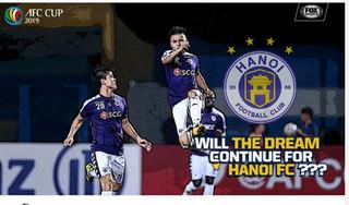 Báo quốc tế đánh giá về khả năng đi tiếp của Hà Nội FC ở AFC Cup