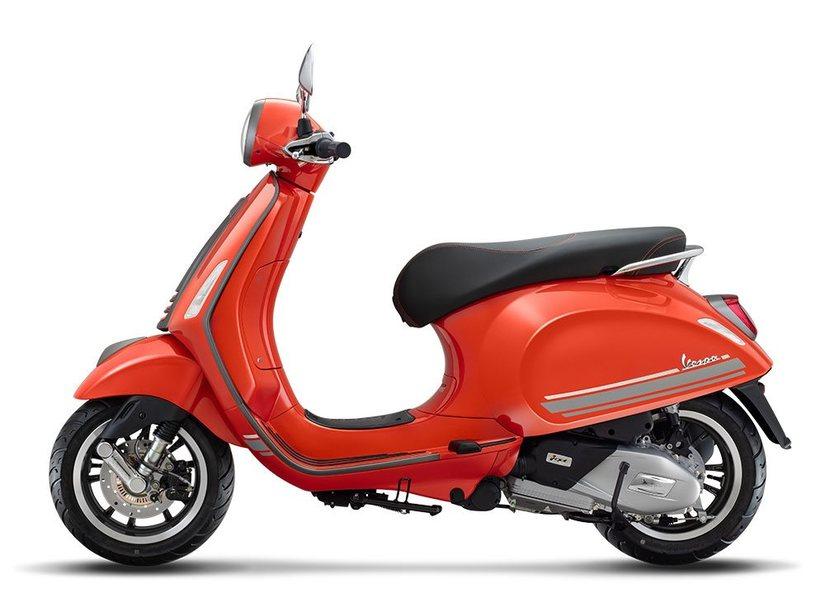 Xe Vespa Primavera S bản đặc biệt giá 76 triệu đồng có gì hay3