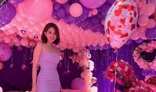 Trước tin đồn chia tay, Ngọc Trinh được bạn trai tổ chức sinh nhật hoành tráng