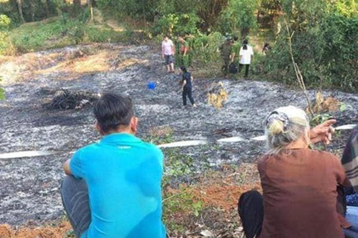 Đột quỵ trong lúc đốt lá cây, người đàn ông bị lửa thiêu tử vong. Ảnh Vietnamnet.