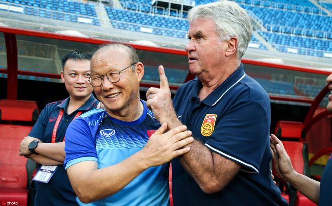Trung Quốc sa thải HLV Guus Hiddink không liên quan tới HLV Park Hang Seo