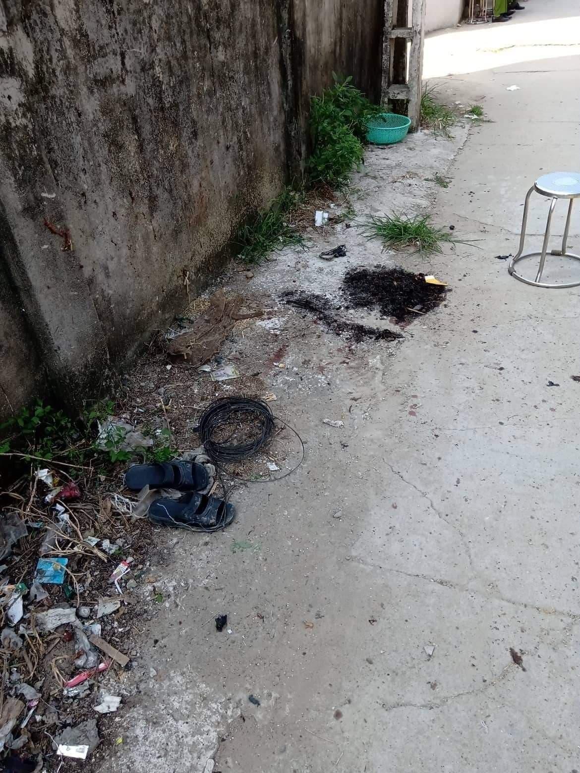 Thái Nguyên: Sau tiếng nổ lớn, một người đàn ông tử vong