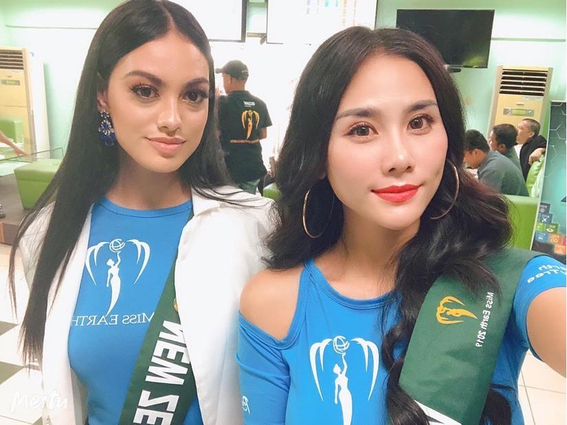 Á hậu Hoàng Hạnh đọ sắc Phương Khánh, Karen Ibasco tại Miss Earth 2019