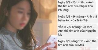 'Phát hoảng' với cô gái cuồng ghen, ghi hẳn nhật ký bạn trai like, thả tim trên Facebook