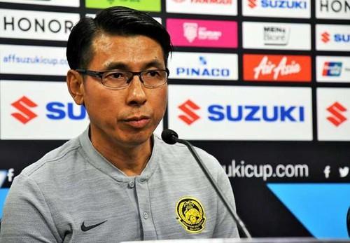 HLV Malaysia vẫn mạnh miệng trước tuyển Việt Nam
