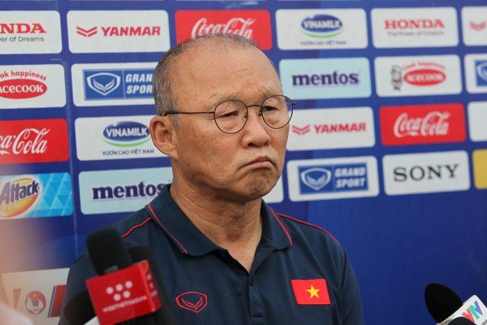 Lý do HLV Park Hang Seo cấm học trò tiết lộ kết quả trận đấu nội bộ2