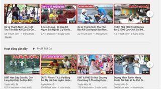 'Thánh chửi' Dương Minh Tuyền lập thêm 2 kênh Youtube mới, có nhiều nội dung phản cảm