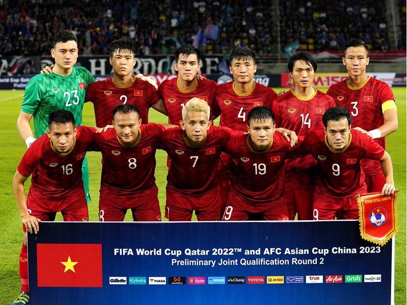 Danh sách chính thức đội tuyển Việt Nam