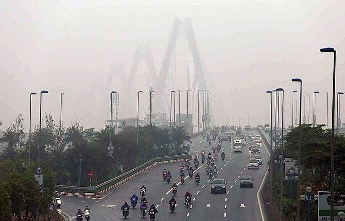 Sau một ngày tụt xuống vị trí 51, không khí Hà Nội trở lại vị trí số 1 về ô nhiễm