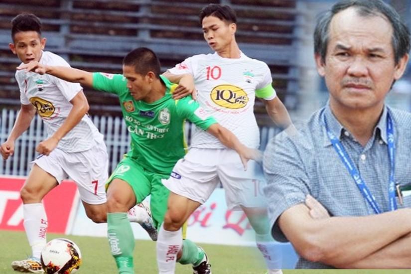 Trung vệ Nguyễn Mạnh Dũng nhận định Tố chất người Việt Nam chưa đáp ứng được yêu cầu đào tạo bóng đá trẻ của HAGL JMG