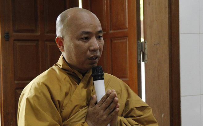 Sau nghi vấn 'gạ tình' nữ phóng viên, Đại Đức Thích Thanh Toàn xin hoàn tục