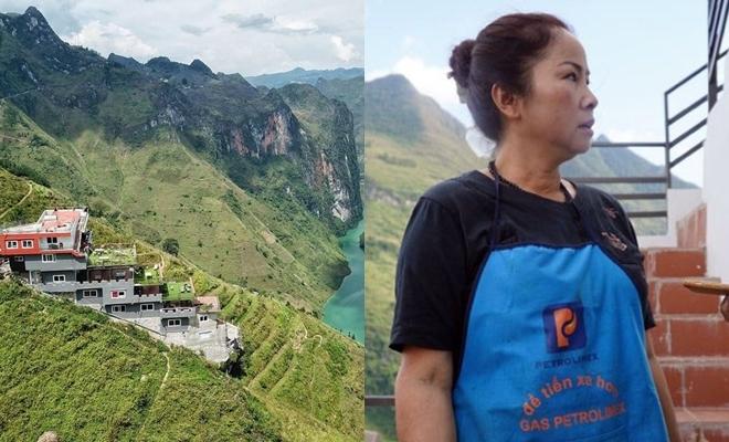 Bà chủ tòa nhà xây trái phép trên đèo Mã Pì Lèng dự định cho nổ tung nếu bị thu hồi