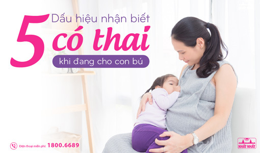 có thai khi cho con bú