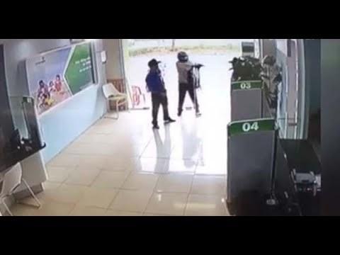 Lời khai ban đầu của Thượng úy Công an nổ súng tại ngân hàng