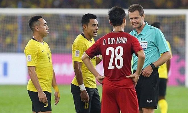 6 cầu thủ Malaysia gặp chấn thương trước trận gặp Việt Nam