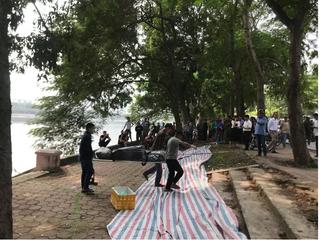 Lặng người nhận ra thi thể nổi ở hồ Linh Đàm là em trai mình