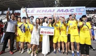 Khai mạc giải bóng đá dành cho học sinh THPT lớn nhất toàn quốc tranh Cup Number 1 Active
