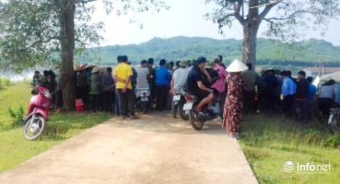 Nghệ An: Triệu tập một số cá nhân trong vụ xác chết bất thường trên hồ Khe Đá