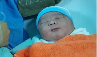 Sản phụ Quảng Nam sinh bé trai nặng tới 5,1kg