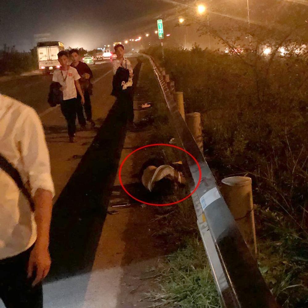 Tai nạn trên cao tốc Hà Nội - Bắc Giang, 3 công nhân thương vong