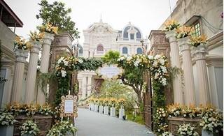 Biệt thự của thiếu gia Nam Định chi tiền tỷ làm hoa cưới hoành tráng cỡ nào?