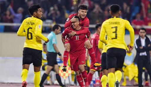 Trận đấu giữa Việt Nam và Malaysia sẽ diễn ra tối nay 10/10