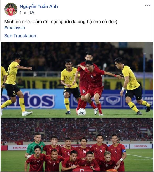 Tiền vệ Tuấn Anh báo tin vui với người hâm mộ Việt Nam