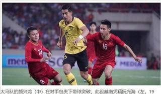 Báo chí Trung Quốc hết lời ngợi khen Quang Hải và đội tuyển Việt Nam