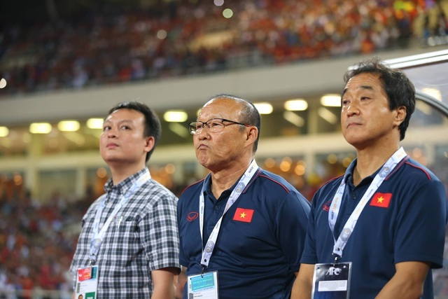 Lãnh đạo VFF tuyên bố về hợp đồng với HLV Park Hang Seo2