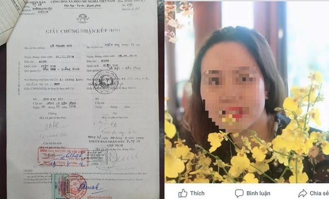 Vụ nữ trưởng phòng mượn bằng: Gia thế nhà chồng và bất thường giấy đăng kí kết hôn