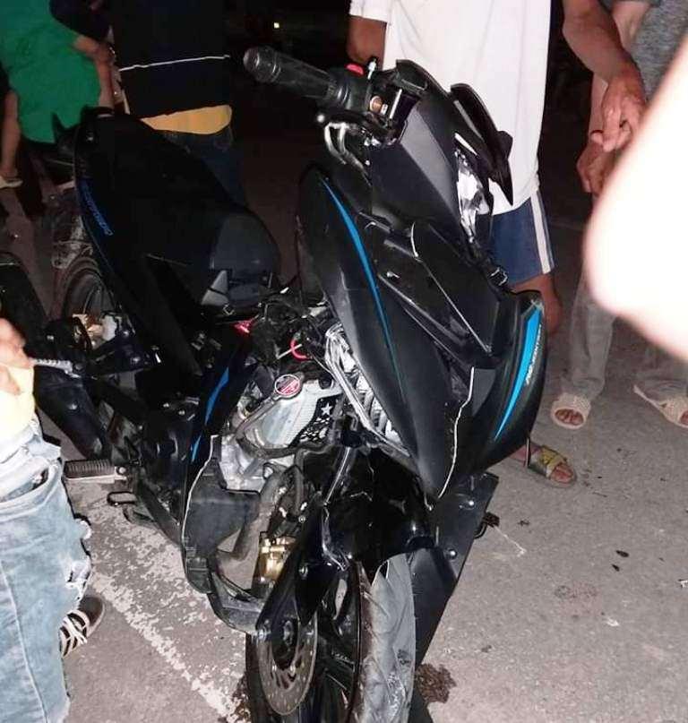 Nghệ An: Cả gia đình nguy kịch sau cú đối đầu kinh hoàng giữa 2 xe máy