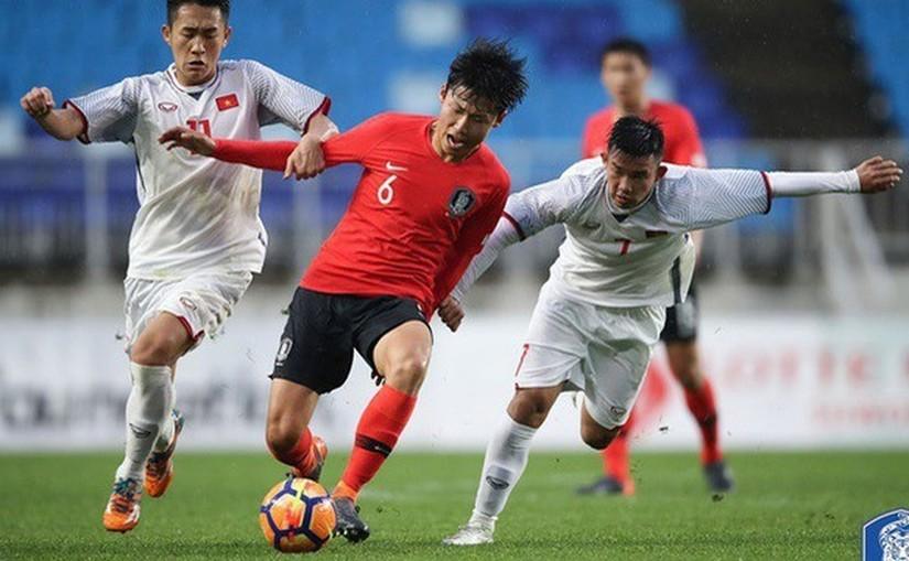U19 Việt Nam thất bại trước Hàn Quốc ở giải Tứ hùng Thái Lan