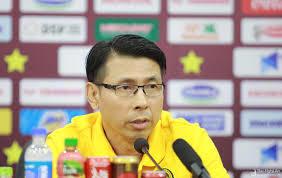 HLV Tan Cheng Hoe phát biểu sau trận đấu giữa Malaysia và Việt Nam
