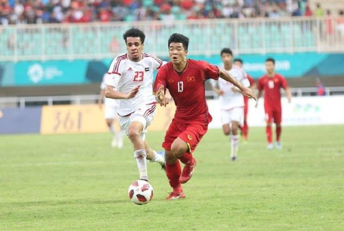 U22 Việt Nam có trận hòa trên thế thắng trước U22 UAE