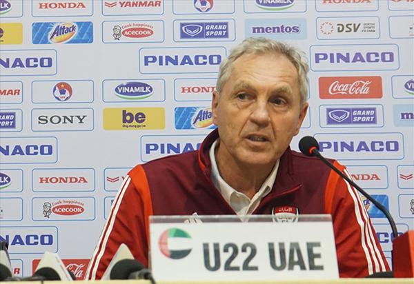 HLV U22 UAE ngỡ ngàng với sự phát triển của bóng đá Việt Nam
