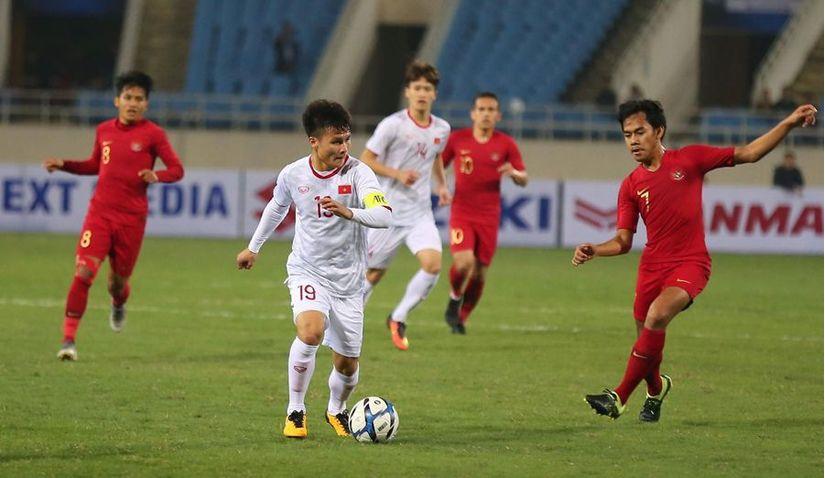 Sốc trước lịch sử đối đầu giữa đội tuyển Việt Nam và Indonesia