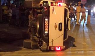 Nghi án nhóm giang hồ lái xe bán tải truy sát 2 thanh niên đi Exciter khiến 1 người tử vong